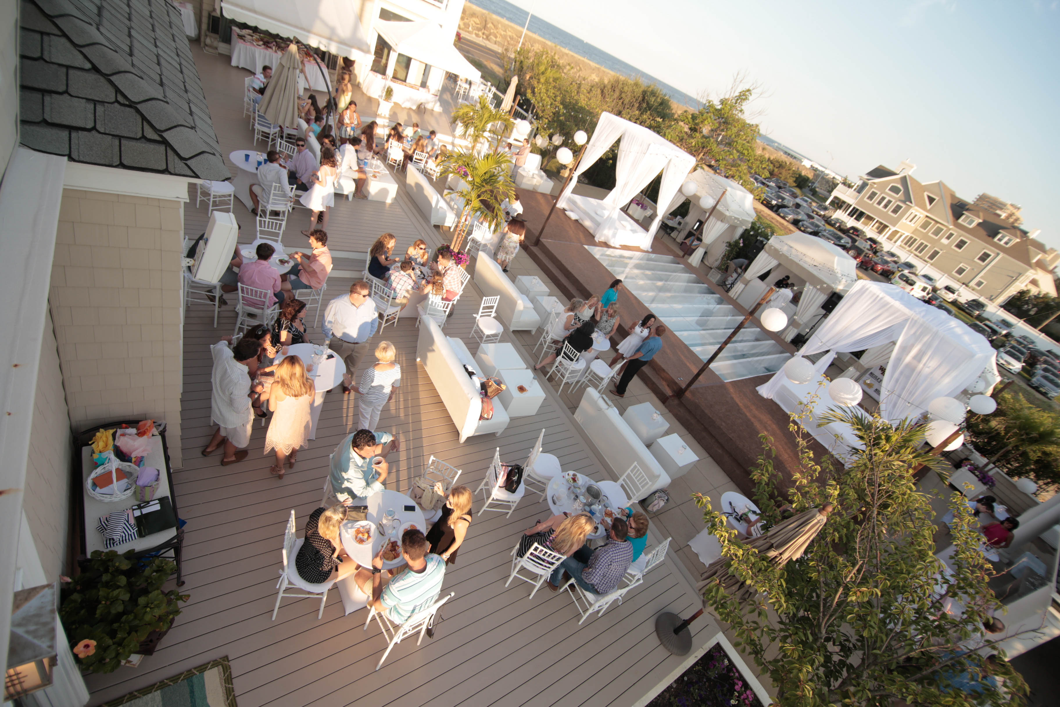 All White Graduation Party - Jersey Street Productions
