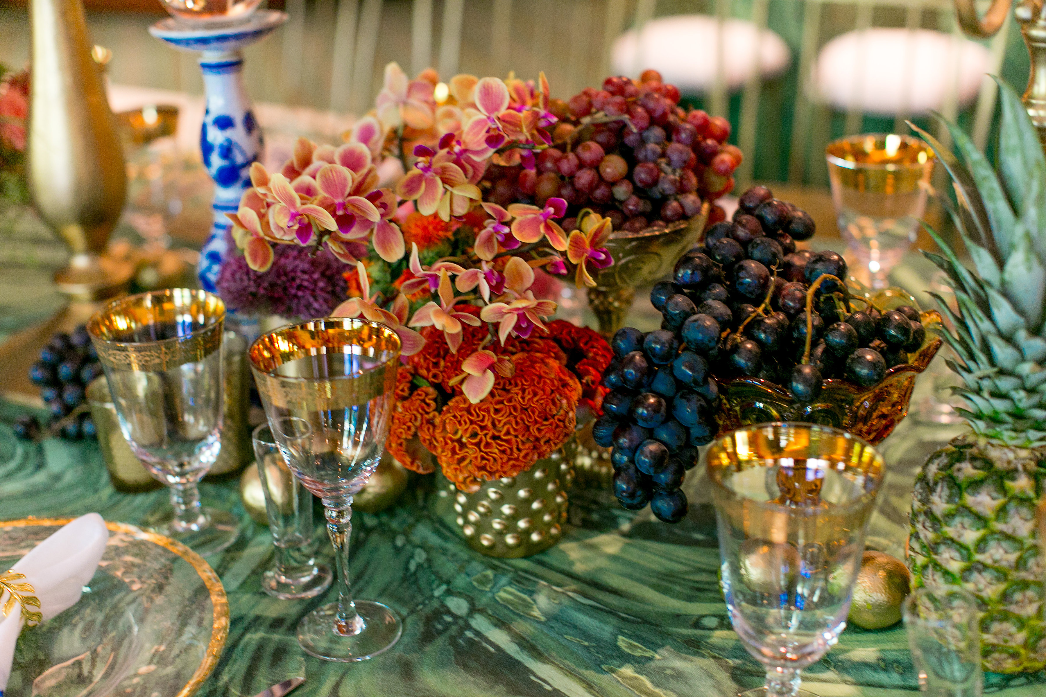 Tropical Inspired Polo Lounge Birthday - Aliana Events