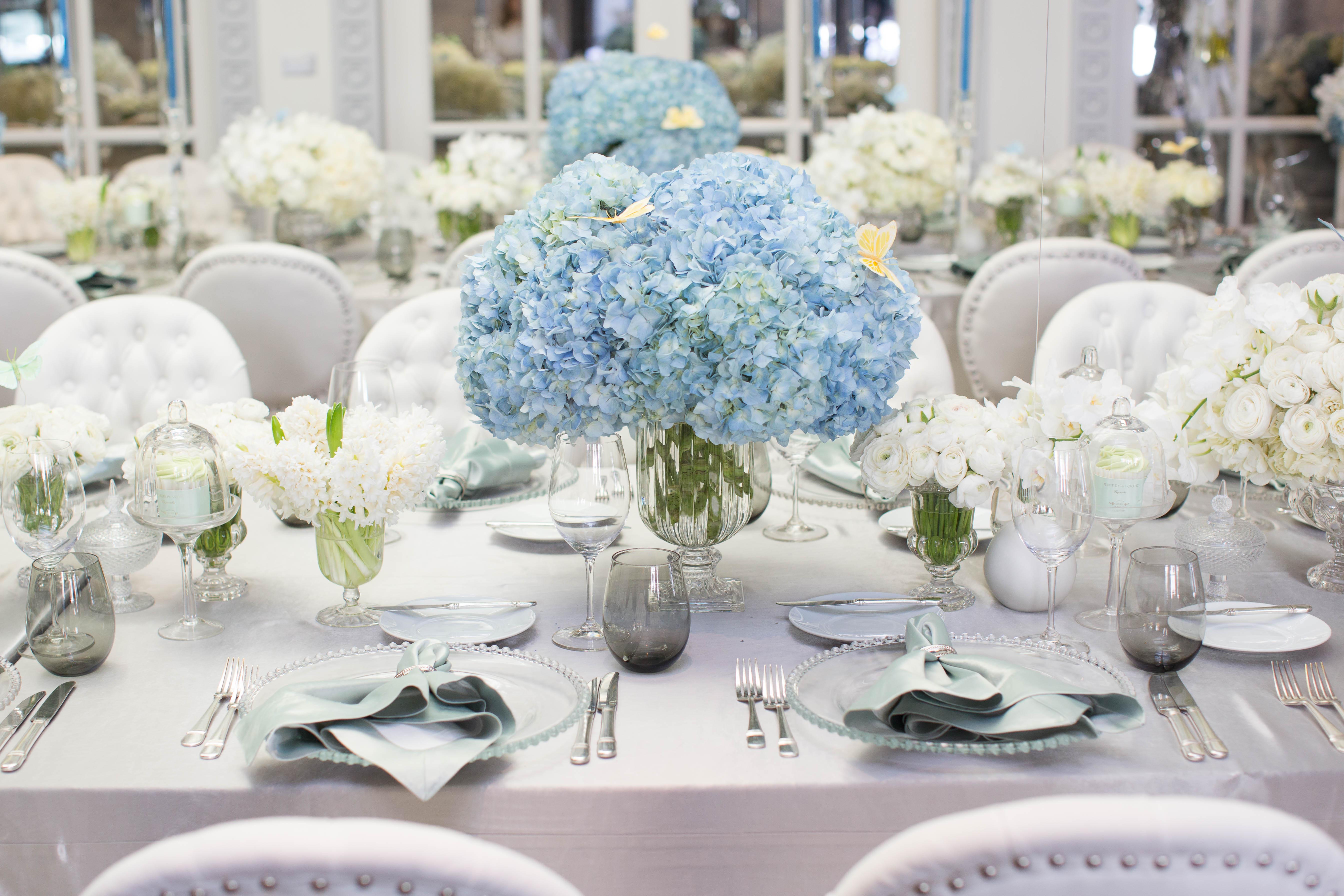 Blue & White Bris - Aliana Events