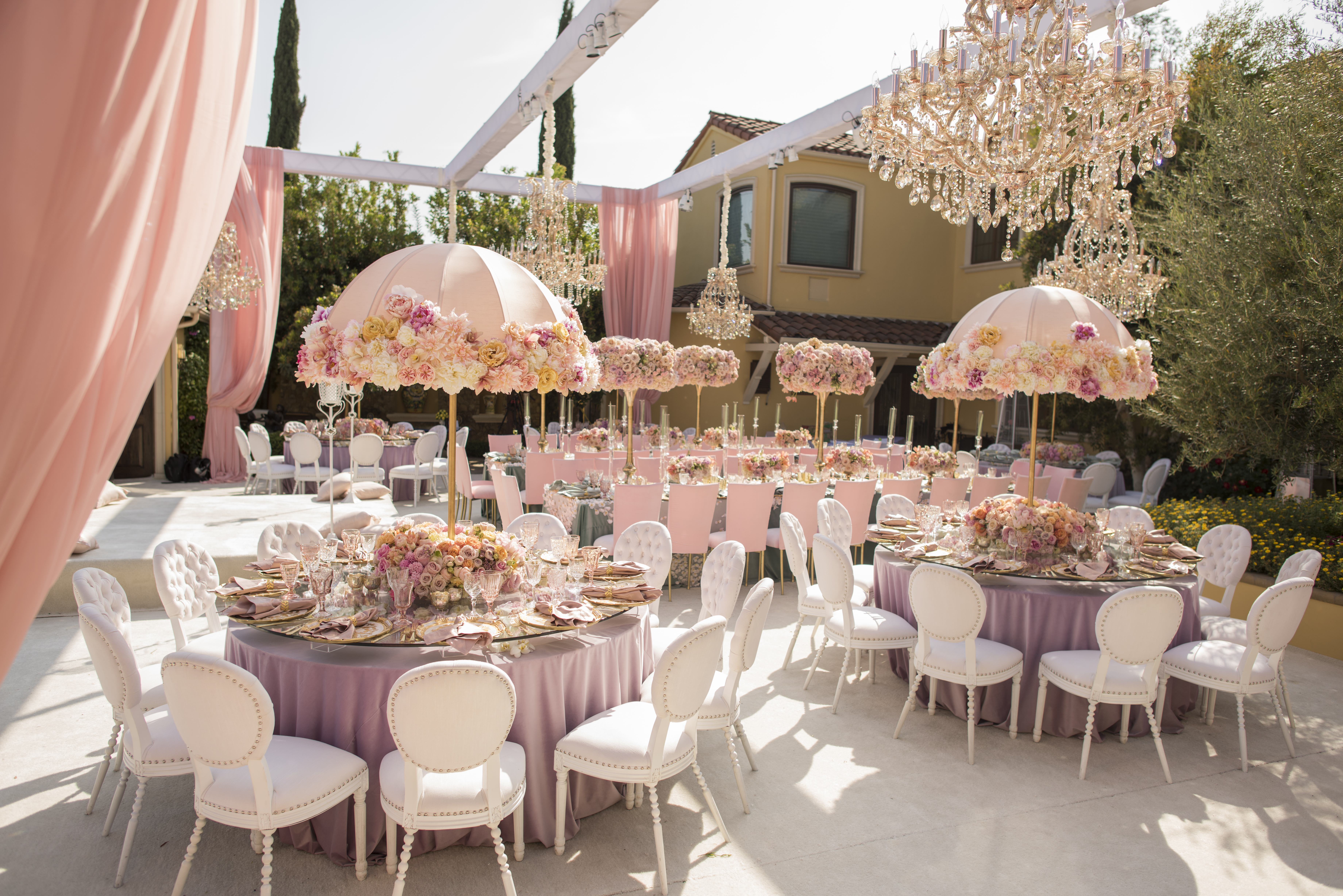 Pink, Purple & Blush First Birthday - Aliana Events