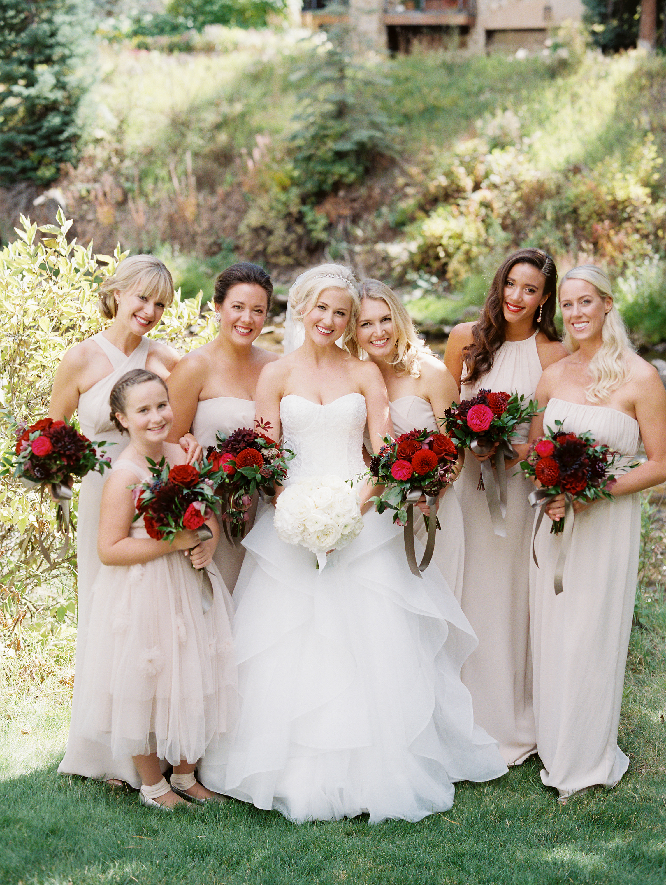 Hadley + Michael's Romantic Vail Wedding - Calluna Events