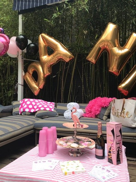 Pink Bachelorette Party - On The Move