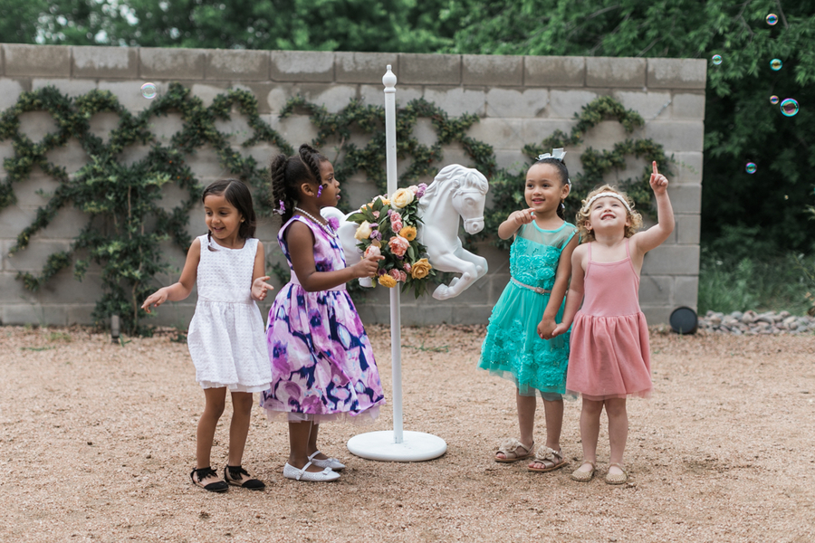 Unicorn Inspired Girls' Party - Melissa Claire Photography