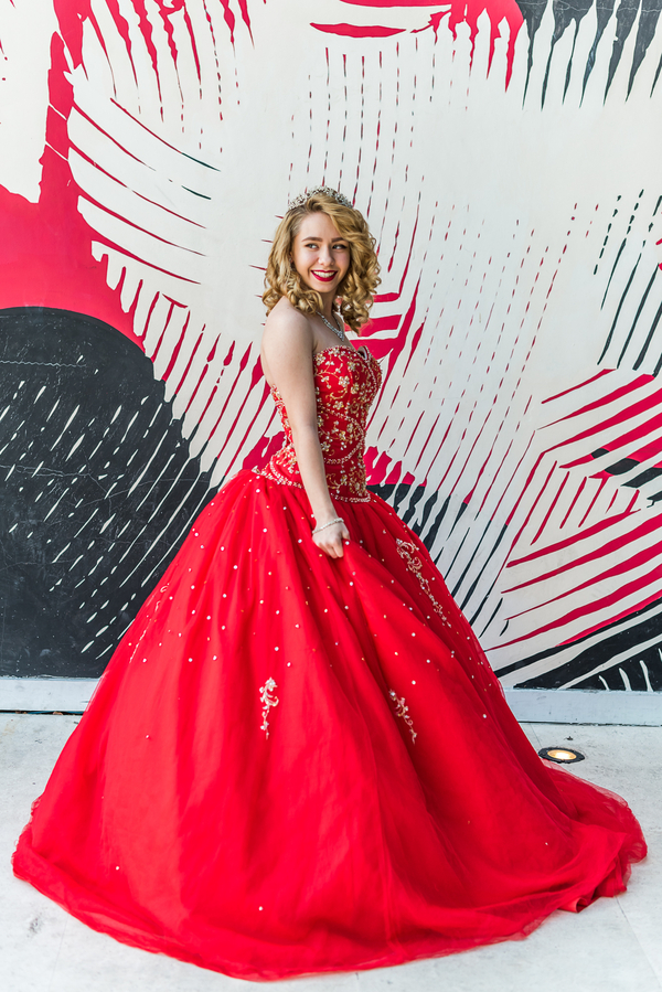 Theatre Inspired Quinceanera - From the Hip Photo