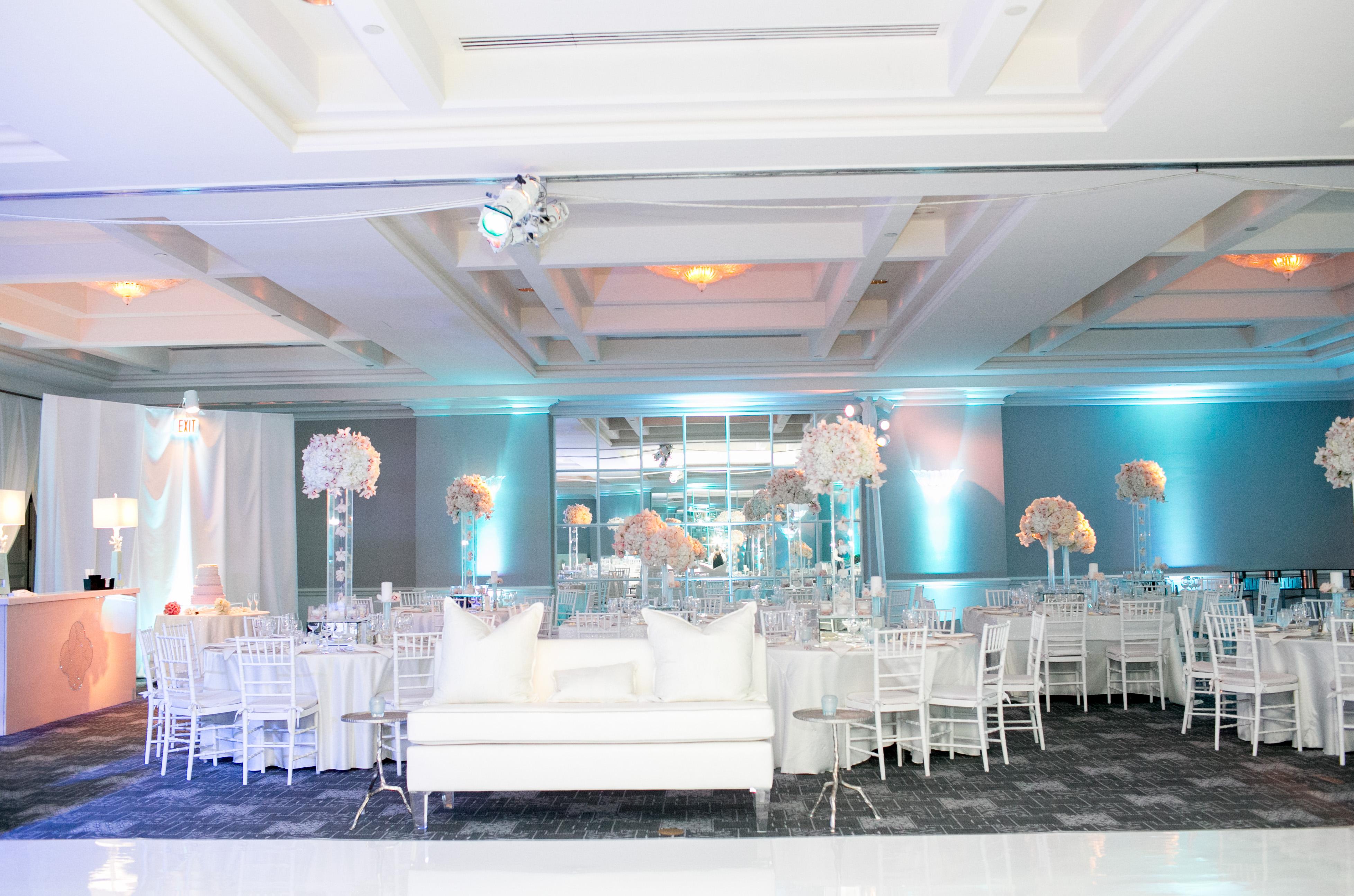Modern Blush & Blue Wedding - Four Seasons Resort Palm Beach