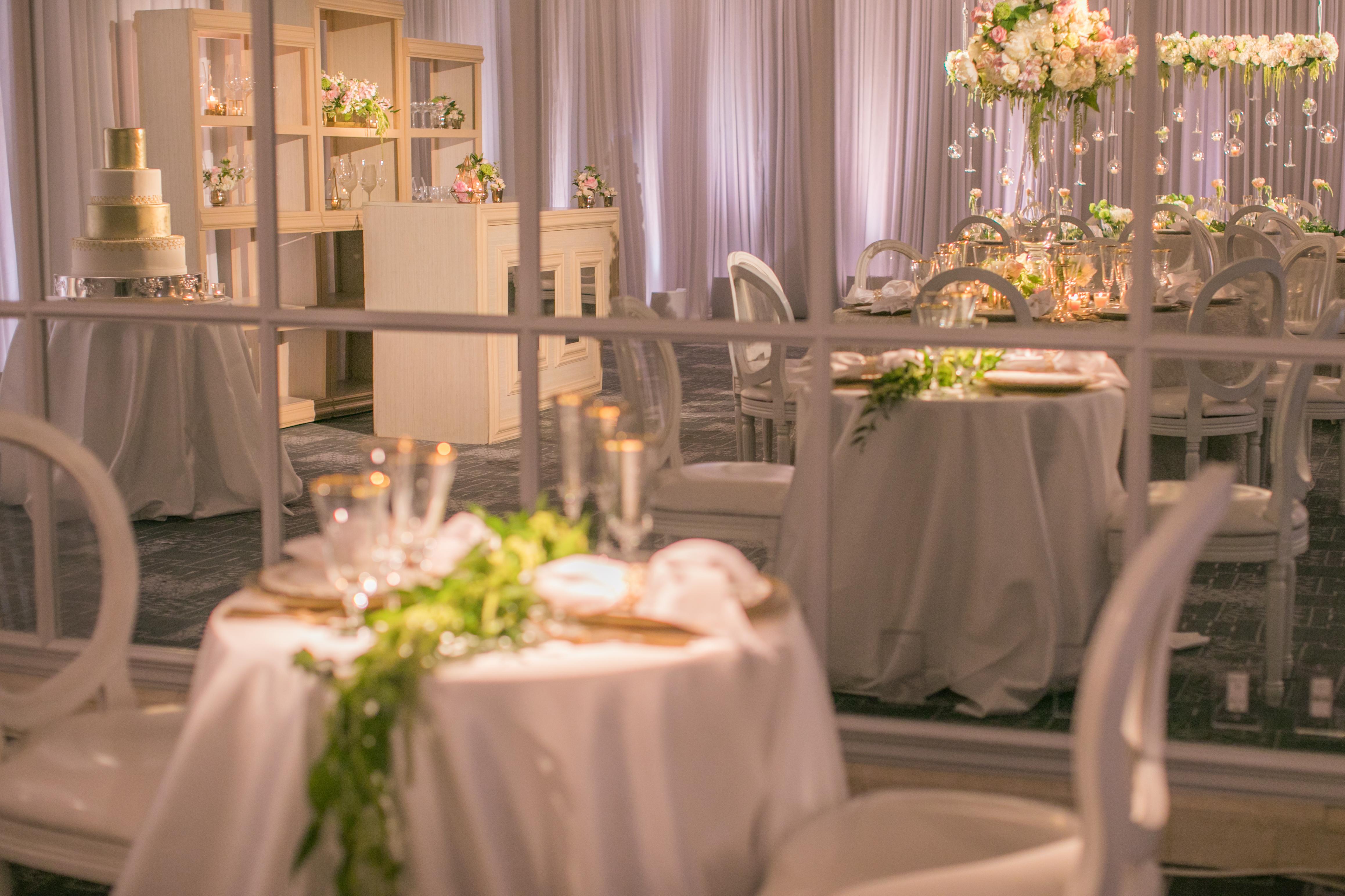 Ivory Romance Wedding Reception - Four Seasons Resort Palm Beach