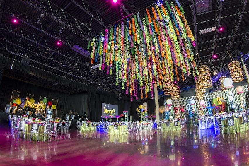 Audiovisual Production Decor, Design, Lighting & Linens