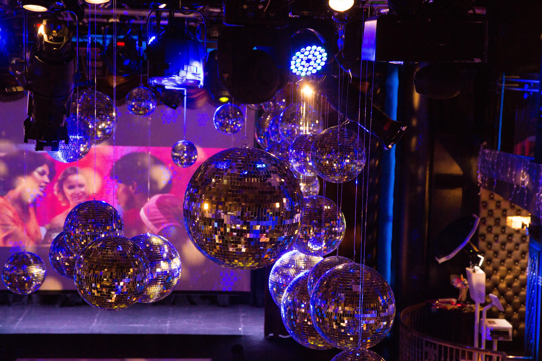 Company Holiday Disco Bash - Florie Huppert Design