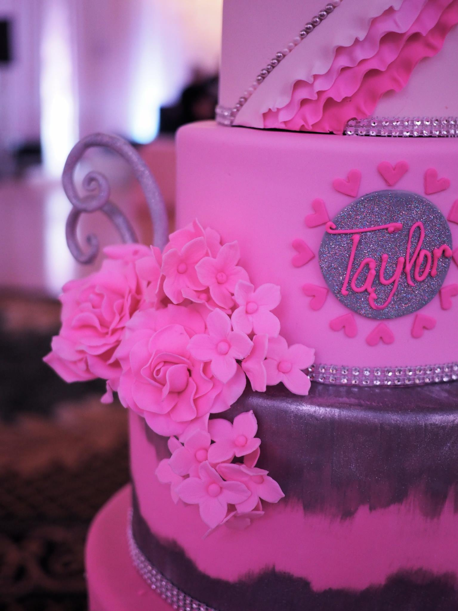Think PINK and Par-TAY for Taylor - Cutie Patootie Creations
