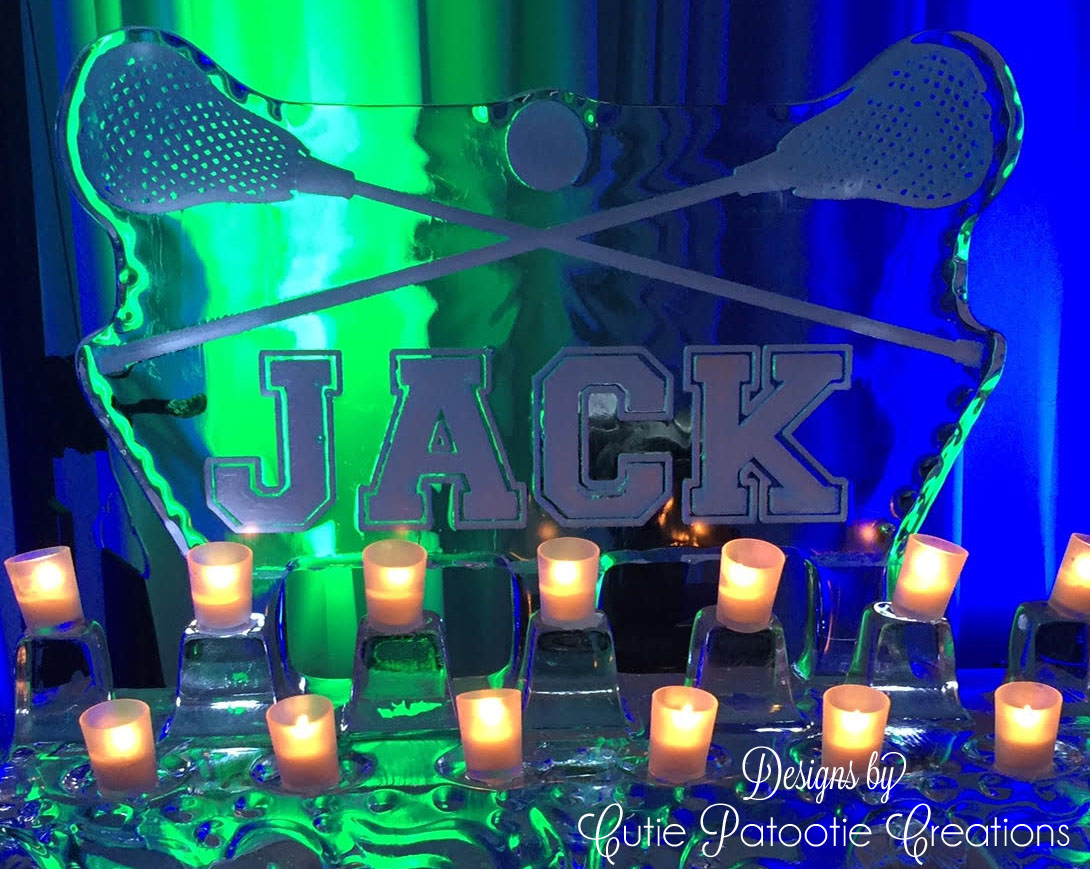 LACROSSE/WRESTLING/GLOW THEME BAR MITZVAH - Cutie Patootie Creations