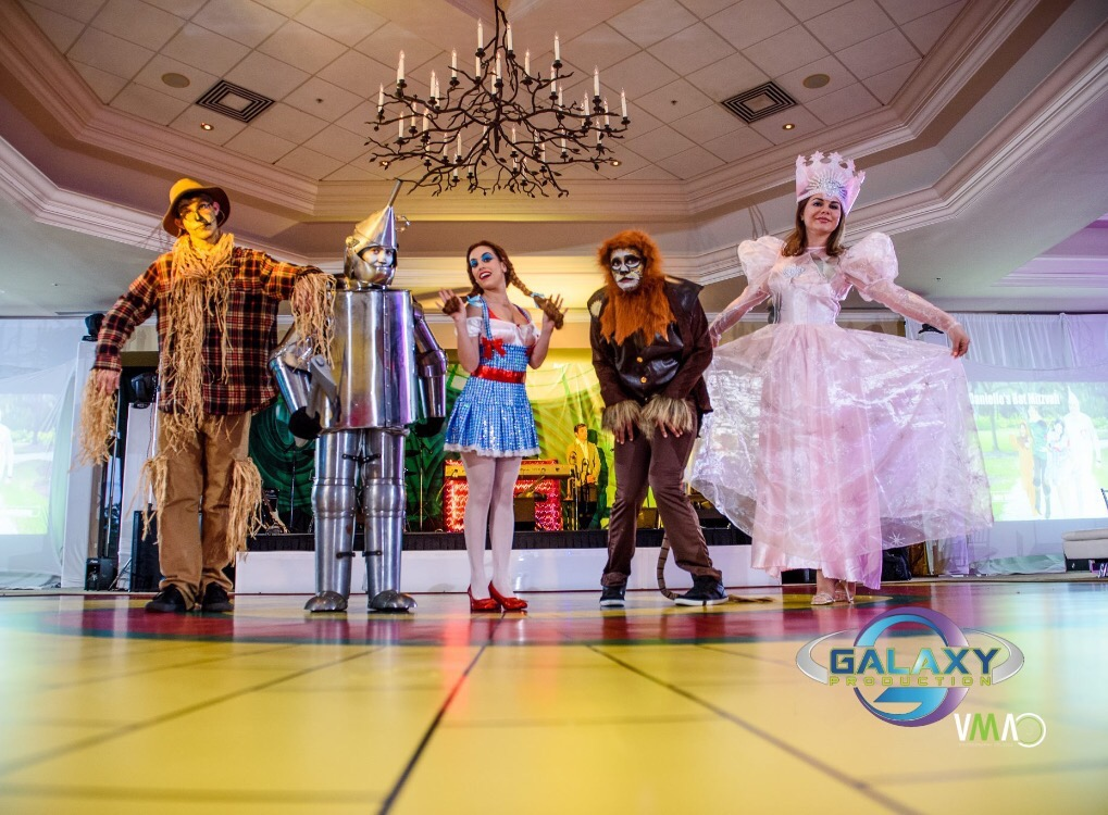 OZ Theme Bat Mitzvah - Galaxy Productions