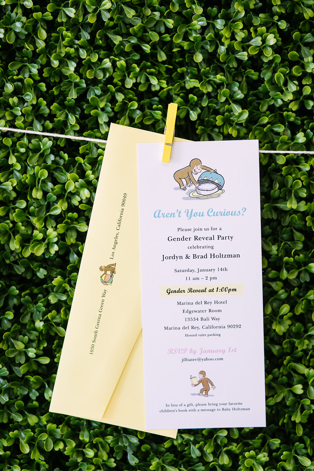 Ilana Ashley Events - Baby Gender Reveal Party - PartySlate