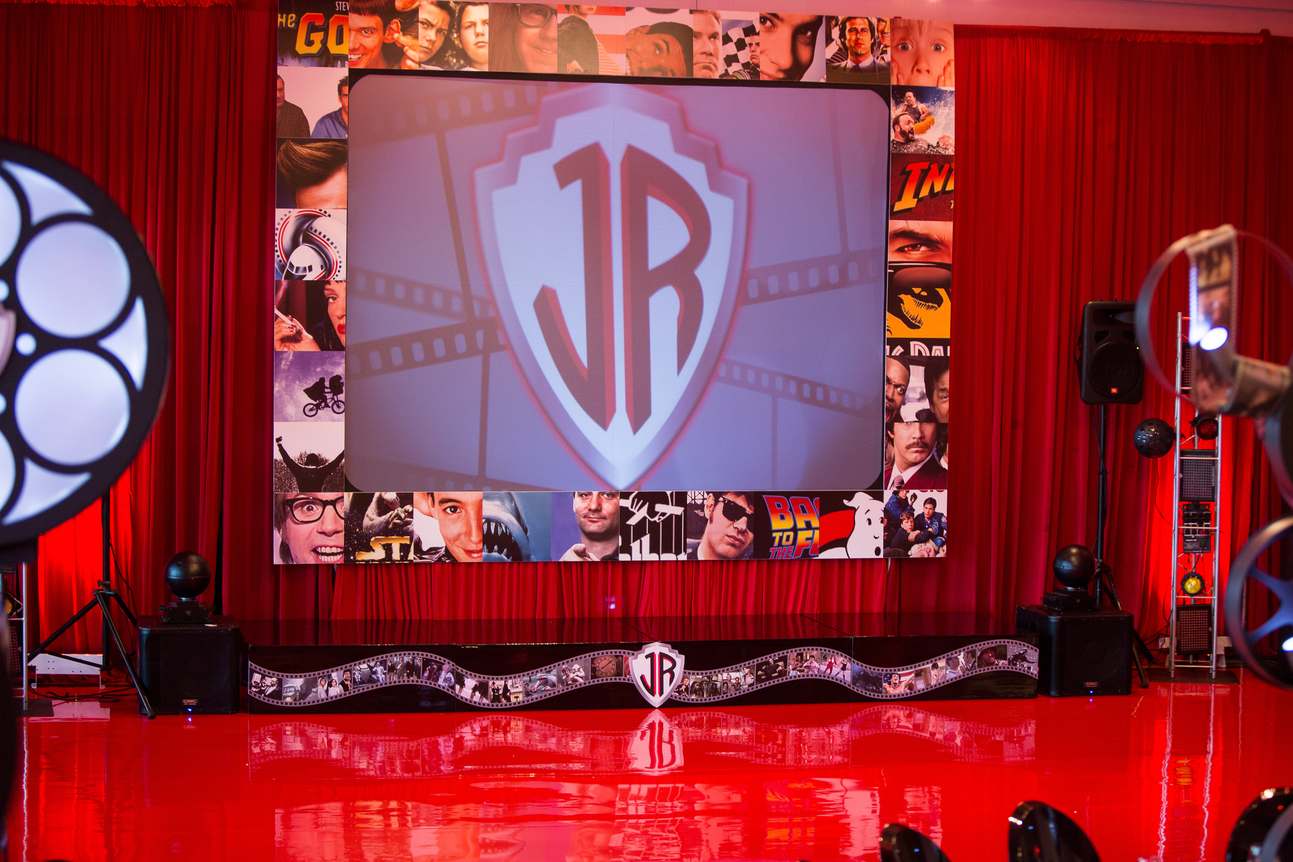 Movie Themed Bar Mitzvah - Epic Events
