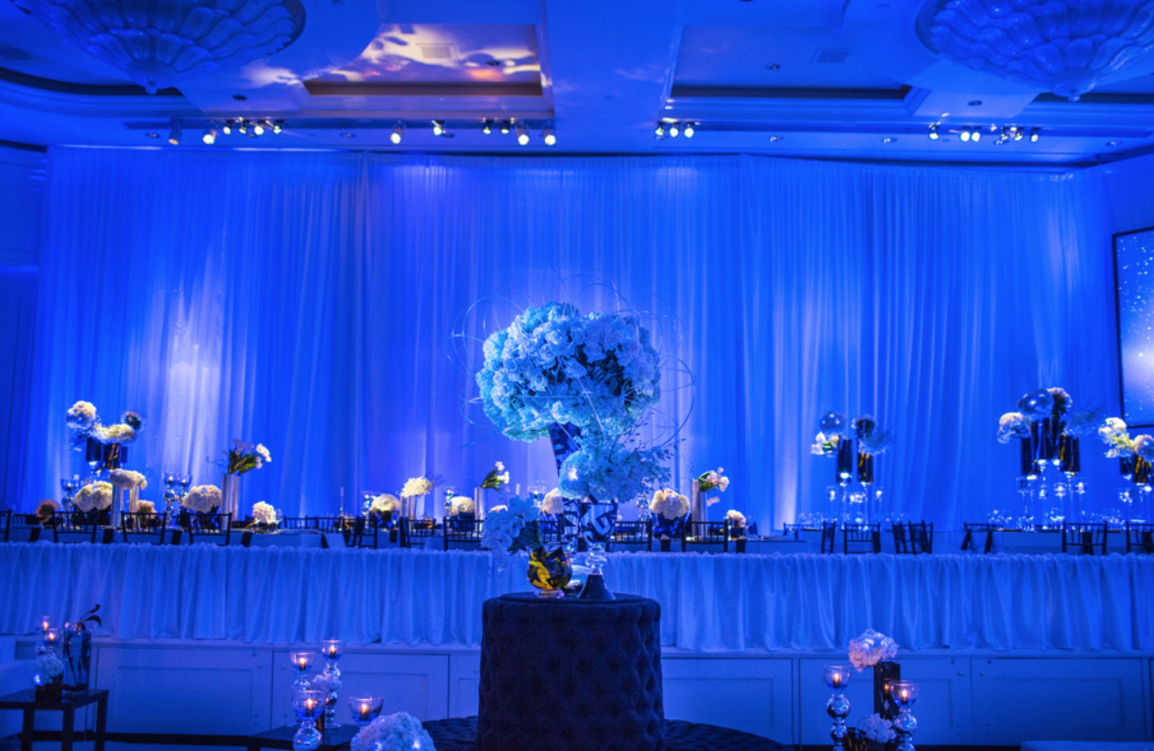 Blue Chic Bar Mitzvah - Square Root Designs