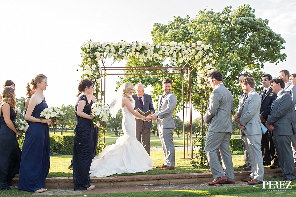 Dallas Wedding at the Four Seasons Under a Canopy of Twinkle Lights - Sue Kelson Events