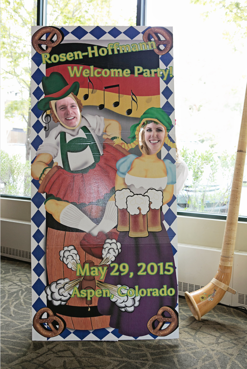 Oktoberfest Rehearsal Dinner - BCR Events