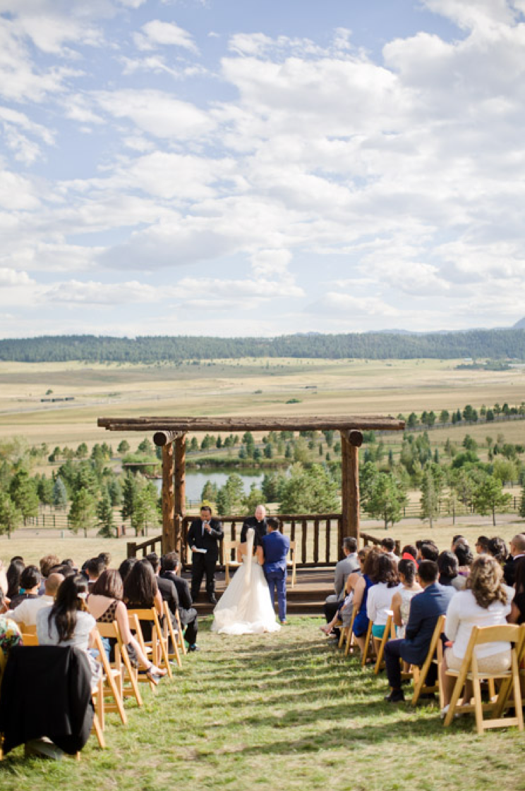 Destination Outdoor Simplistic Wedding - Honey Bee Weddings and Events