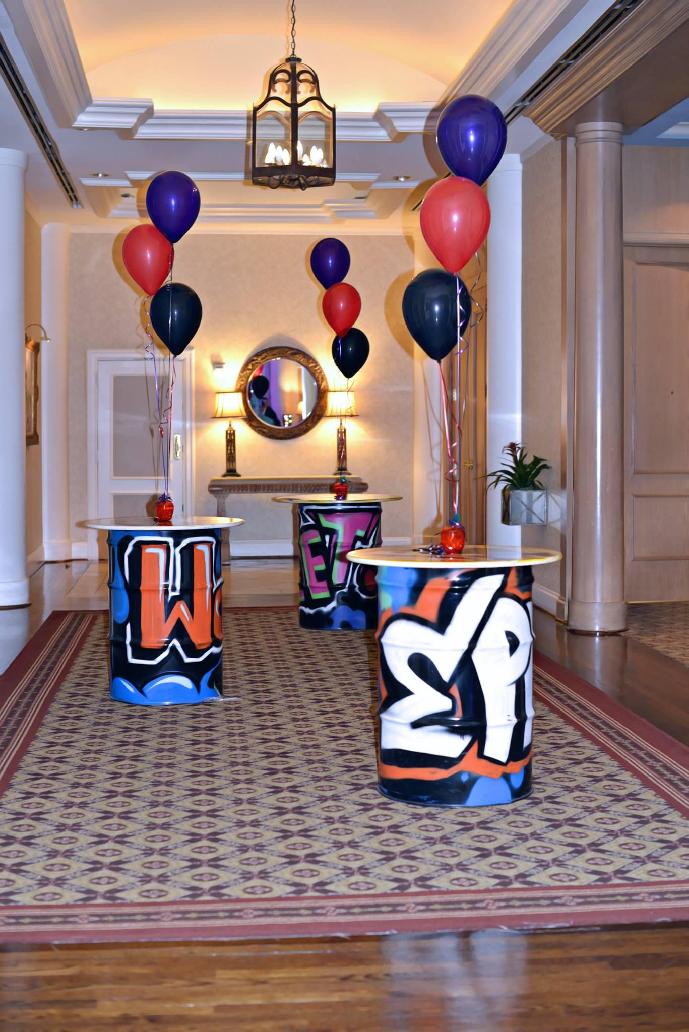 New York City Themed Bat Mitzvah - Tie A Bow