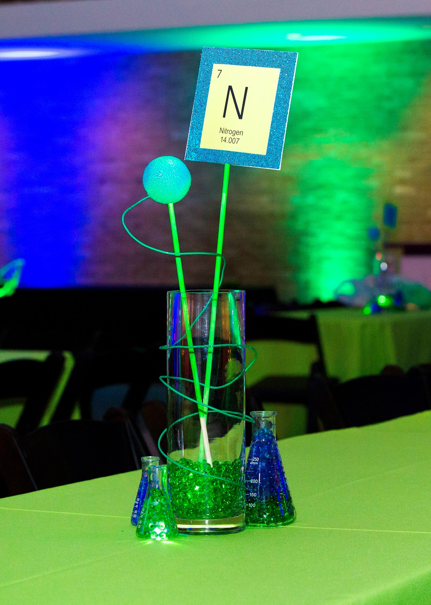 Science Themed Bar Mitzvah - Tie A Bow