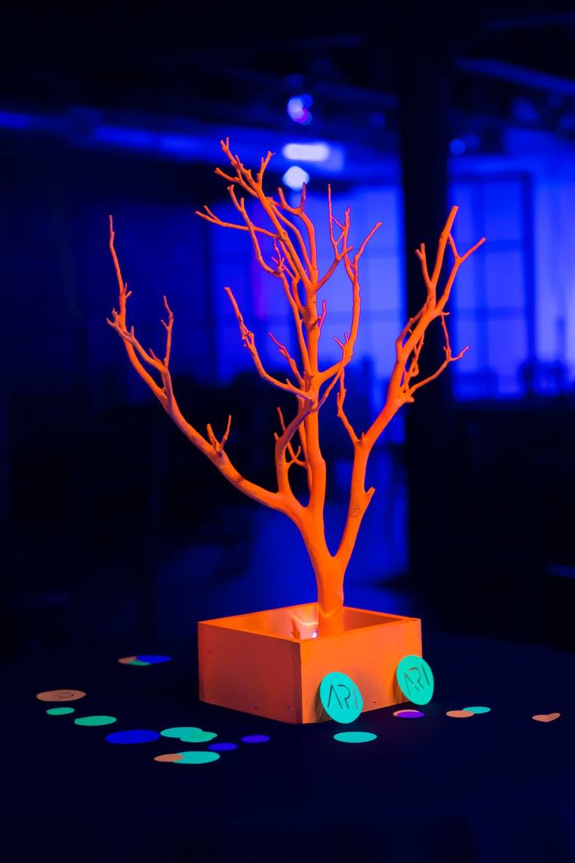 Ari's Glow Mitzvah - Events by Peta
