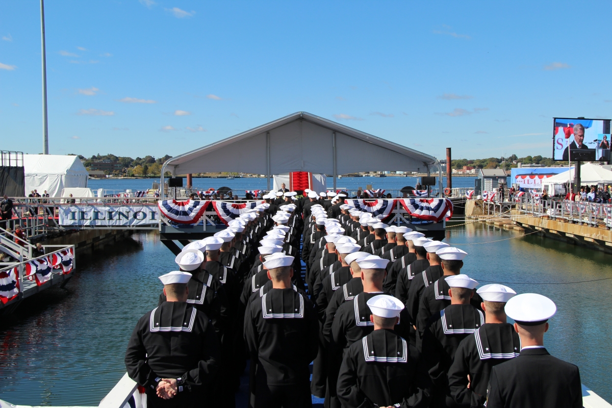 USS Illinois (Submarine) Dedication Ceremony - Christina Currie Events, Inc.