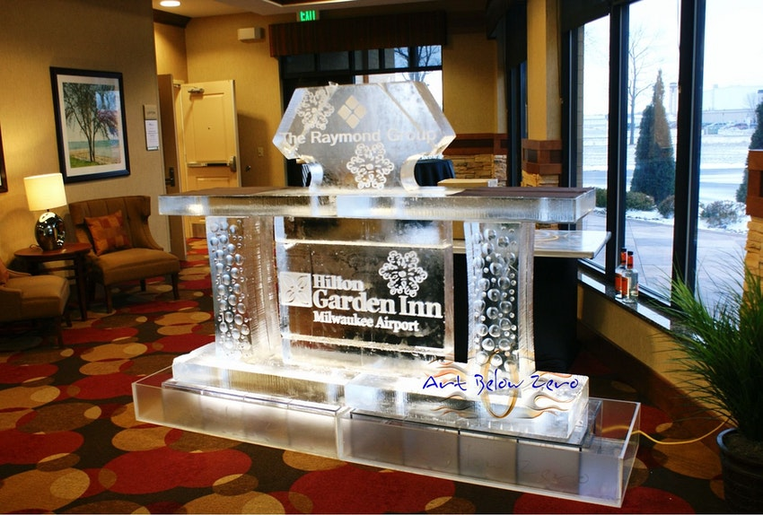 Hilton Garden Inn Ice Bar