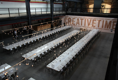 Creative Time Gala - The Factory NYC