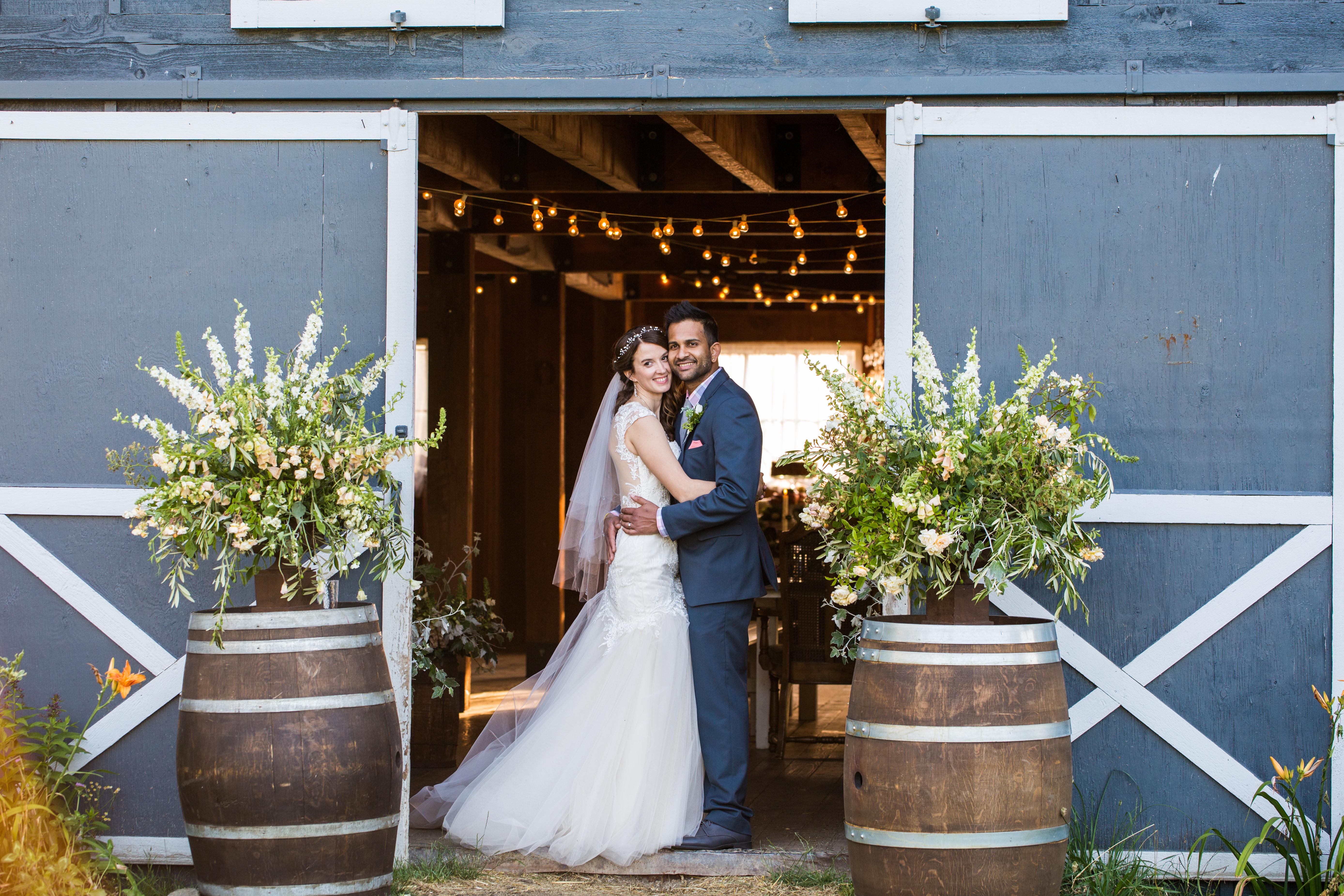 Rustic Barn Wedding on Bainbridge Island - Robert Evans Studios