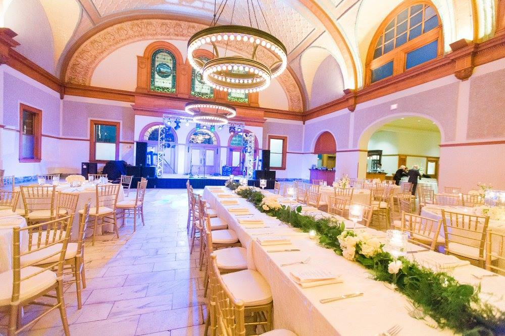 Simple White & Gold Wedding - The Ashton Depot Catering & Events