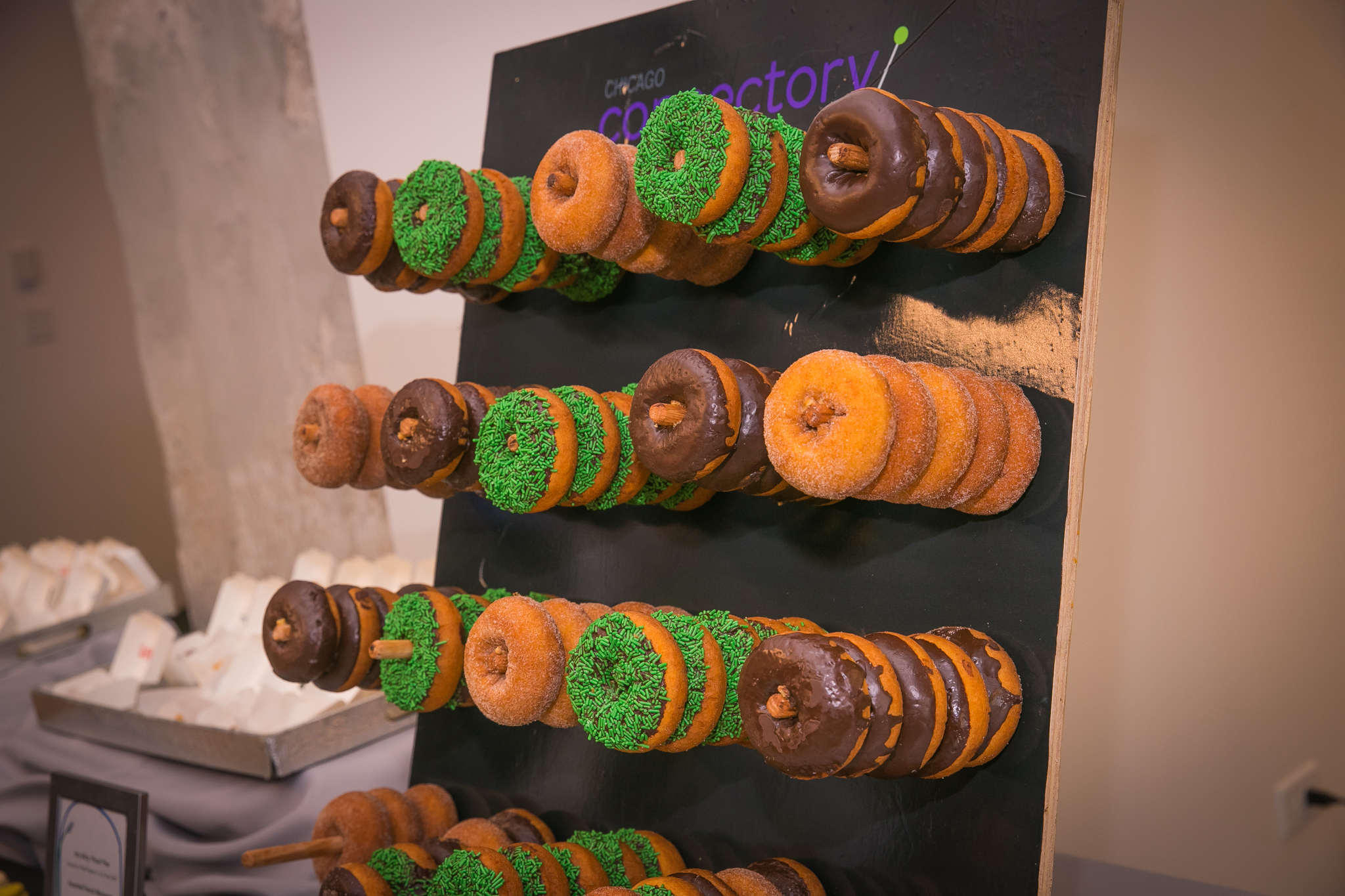 Chicago Connectory Custom Miniature Donut 'Wall'
