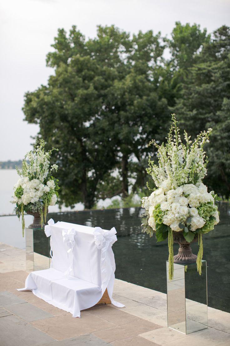 Blue & White Garden Wedding - Haute Floral