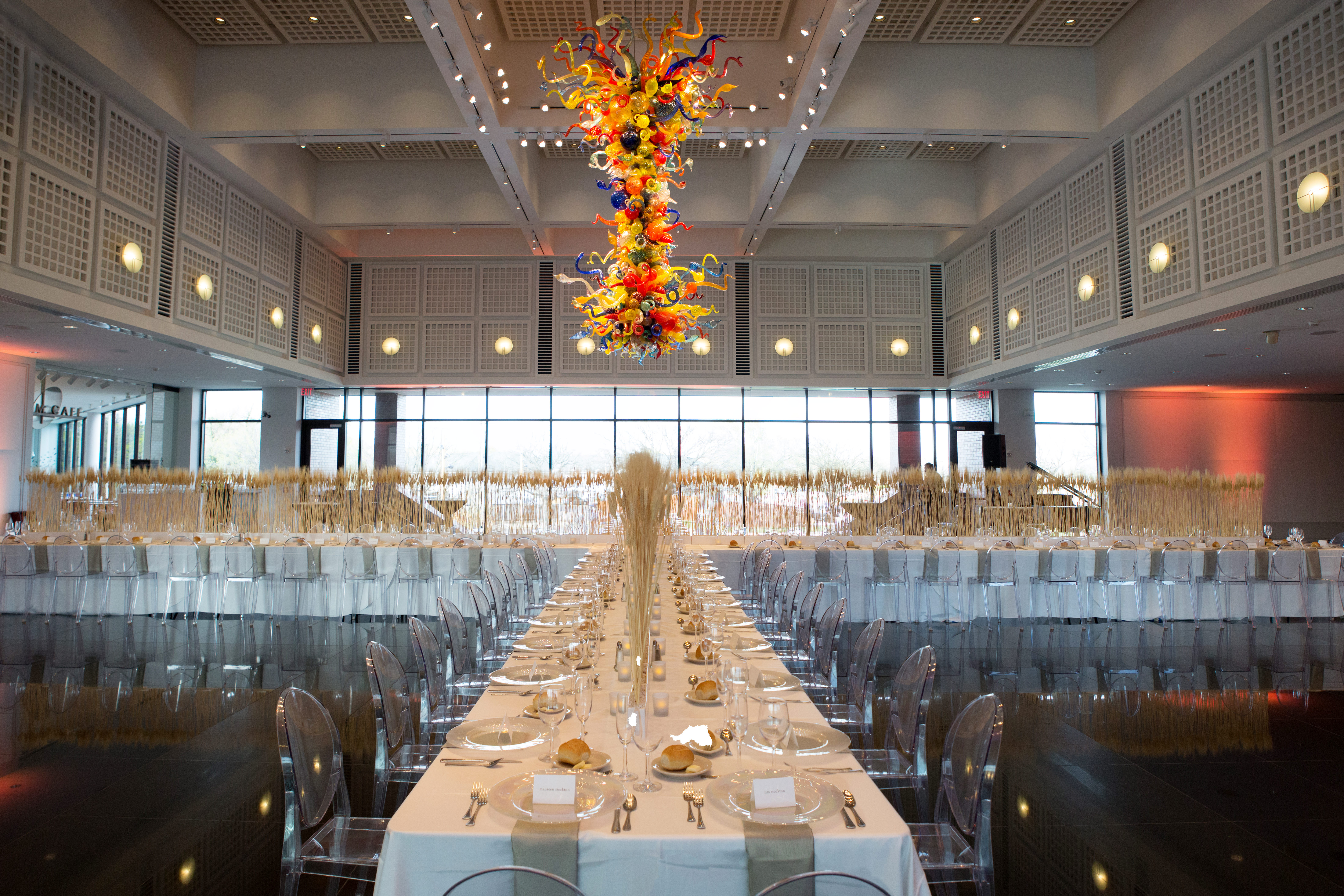 Dinner Party Event at the Wichita Art Museum - North Shore Weddings & Events