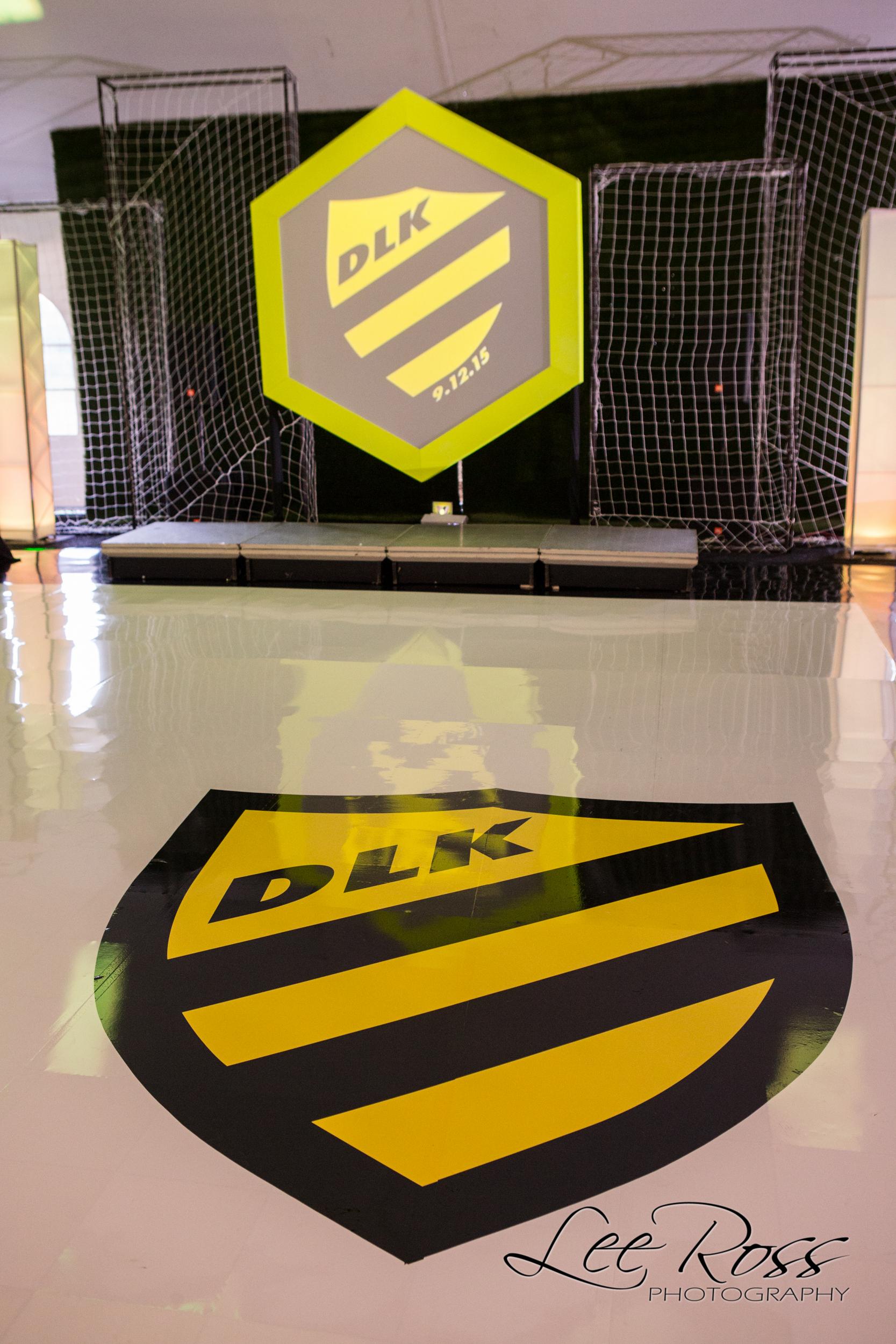 Modern Soccer Bar Mitzvah - Designer Event Chicago
