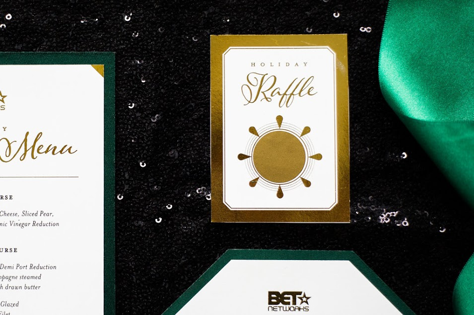 BET NETWORK'S HOLIDAY DINNER - Nicole Marie Events