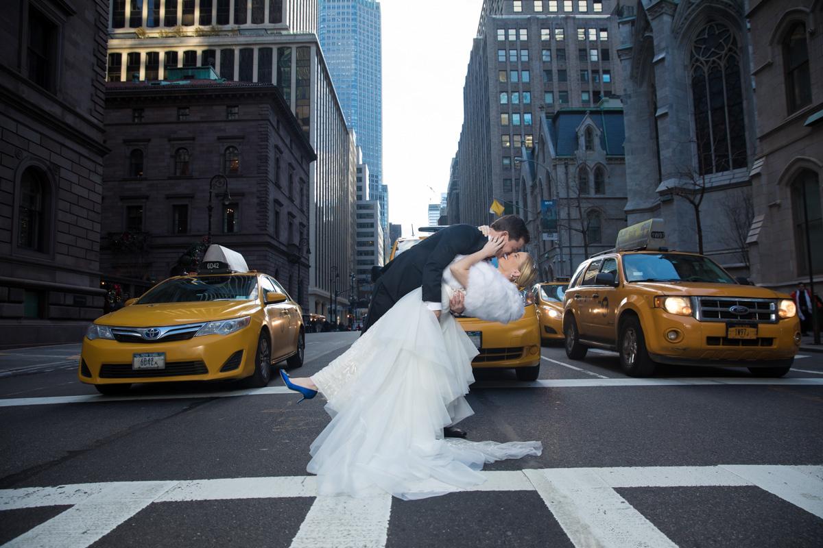 Winter Wedding at the NY Palace - Sarah Merians Photography & Video Company