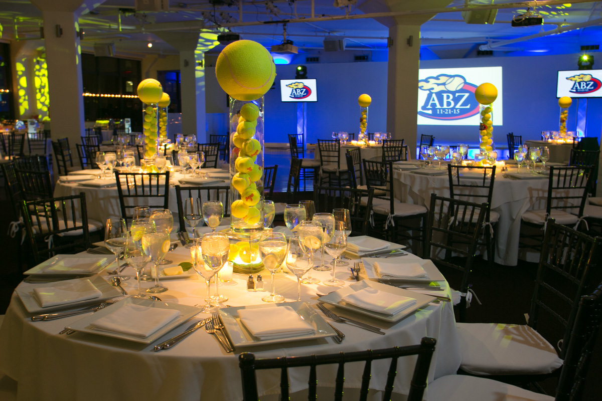 Tennis Themed Bar Mitzvah at Tribeca 360 - Sarah Merians Photography & Video Company