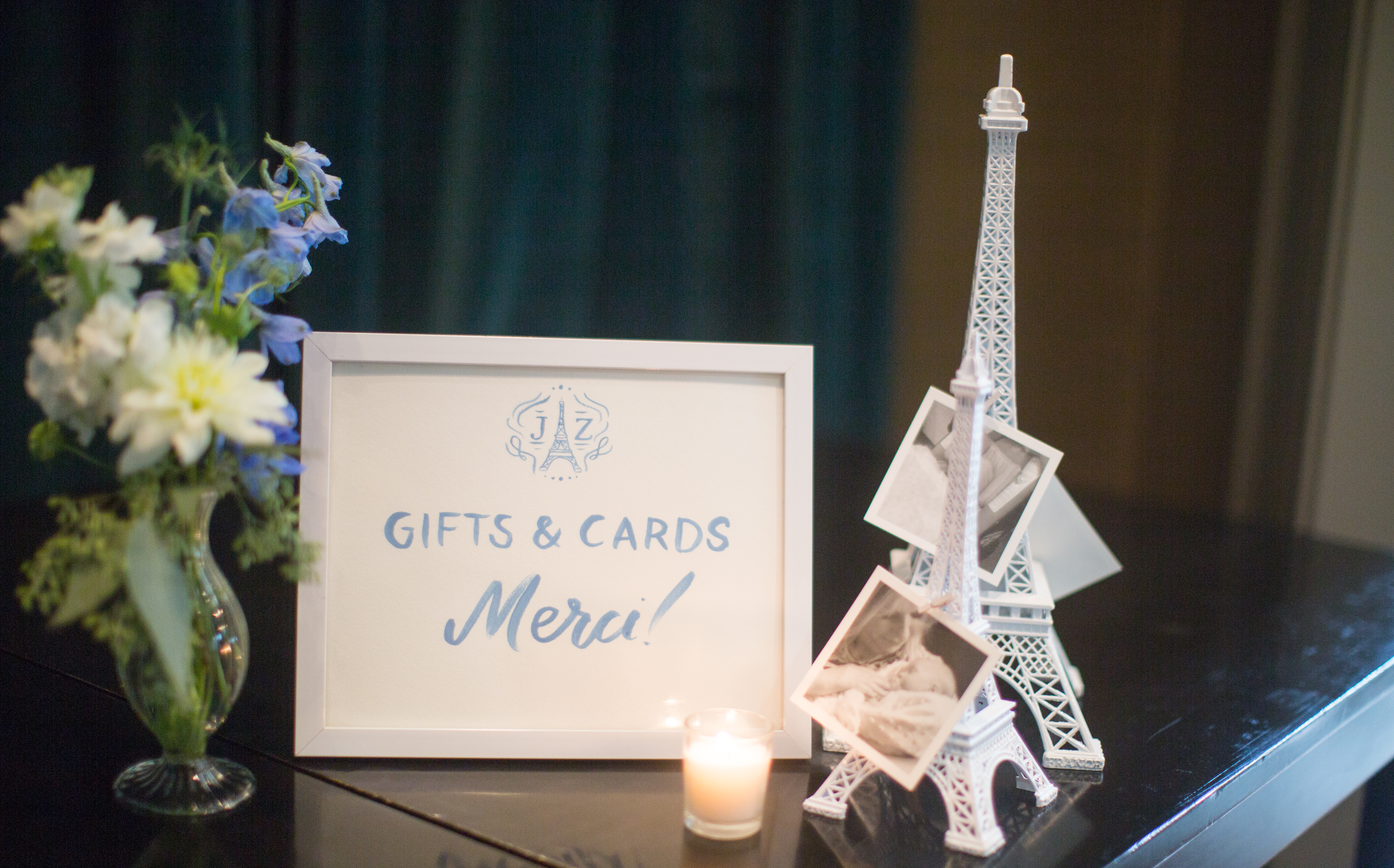 Bonjour Bebe French Baby Shower - Wrap It Up Parties