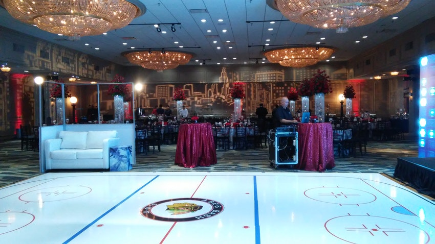 Magic Moments Parties And Events Hockey Theme Bar