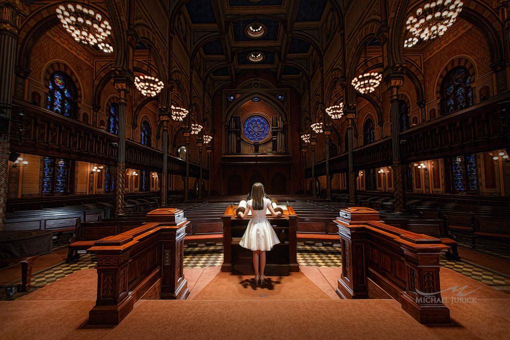 Bat Mitzvah - Rachel Weiss - Michael Jurick Photography