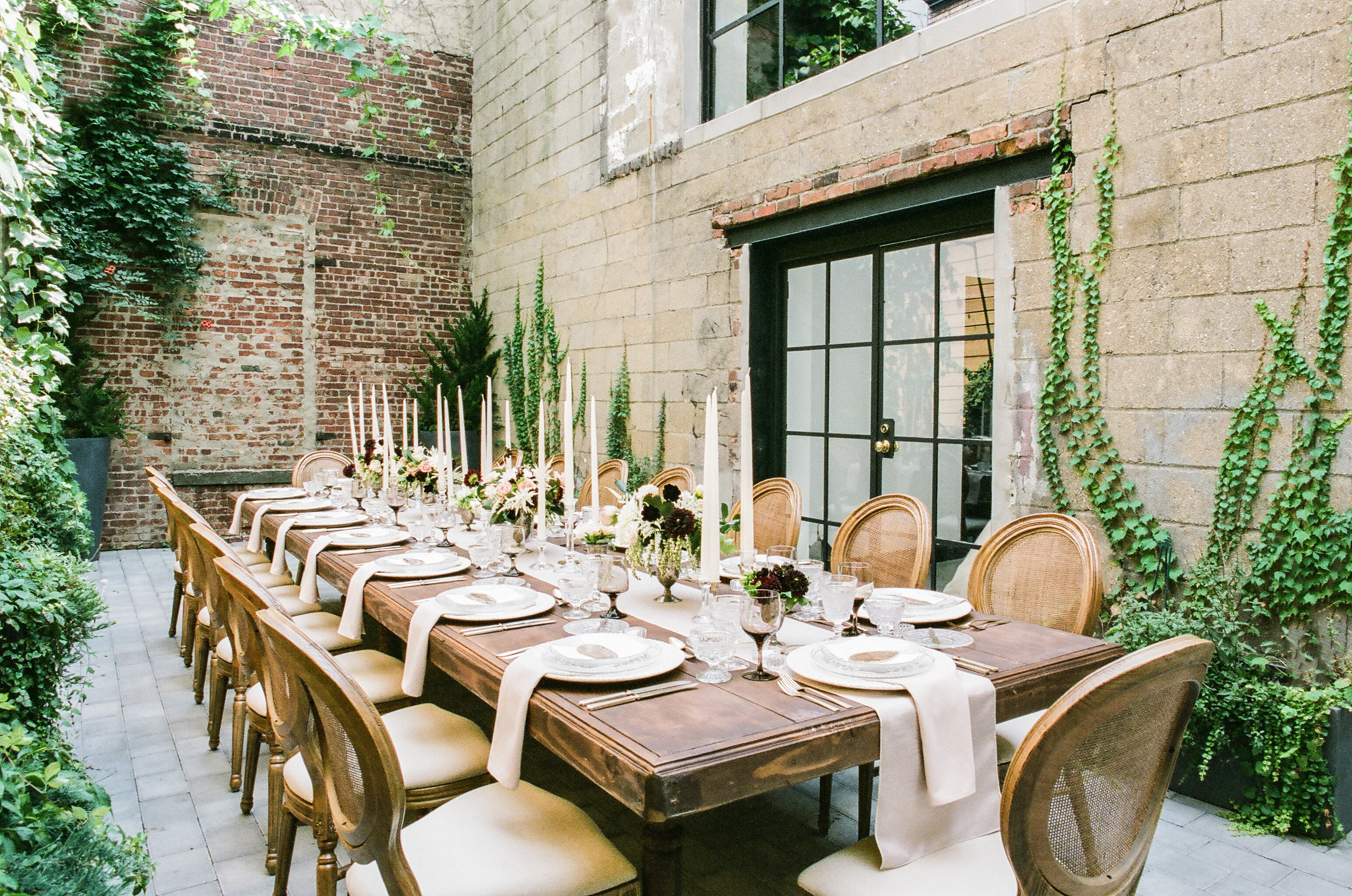 Chic Terrace Dinner Party - Hessney and Co.