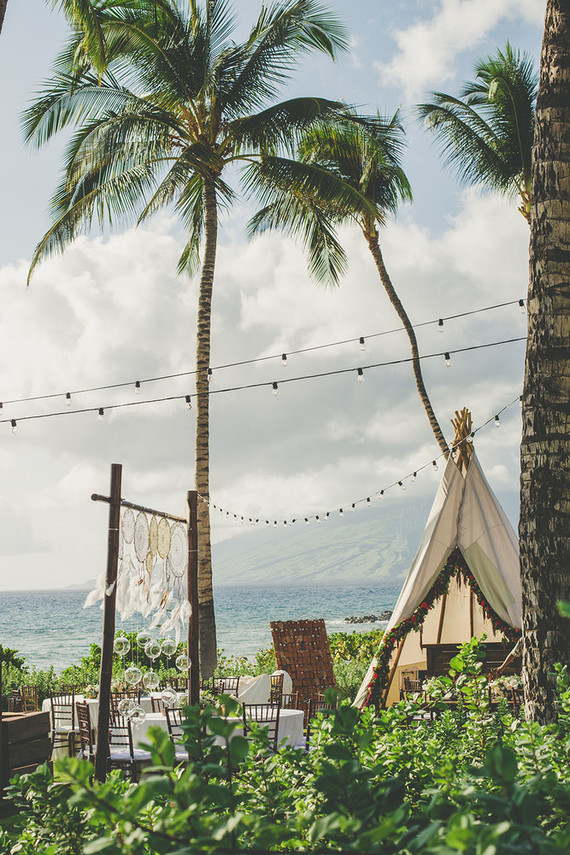 Desert Meets Beach Boho Wedding in Maui - Studio LMC