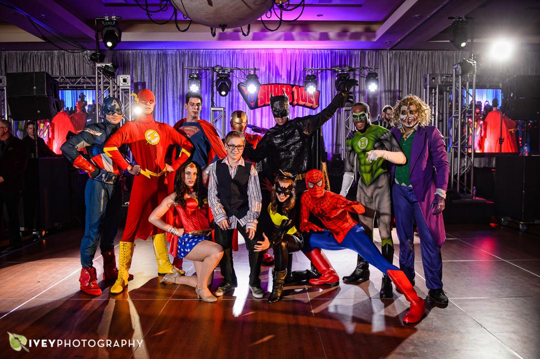 Superheros vs. Villans Bar Mitzvah - Westin Stonebriar Resort