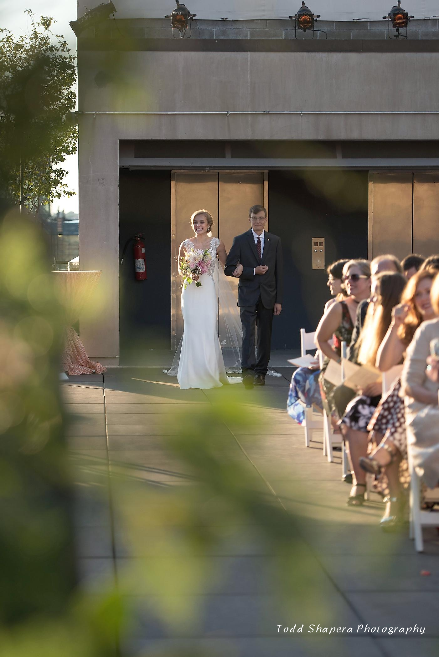 ROOFTOP WEDDING - Monique Banks Party