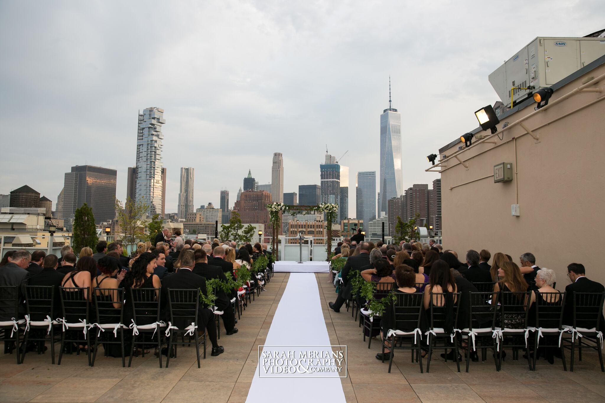 TRIBECA ROOFTOP WEDDING - Monique Banks Party
