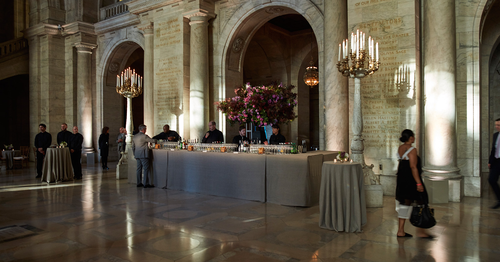 NYPL Spring Gala - New York Public Library - Frost Productions