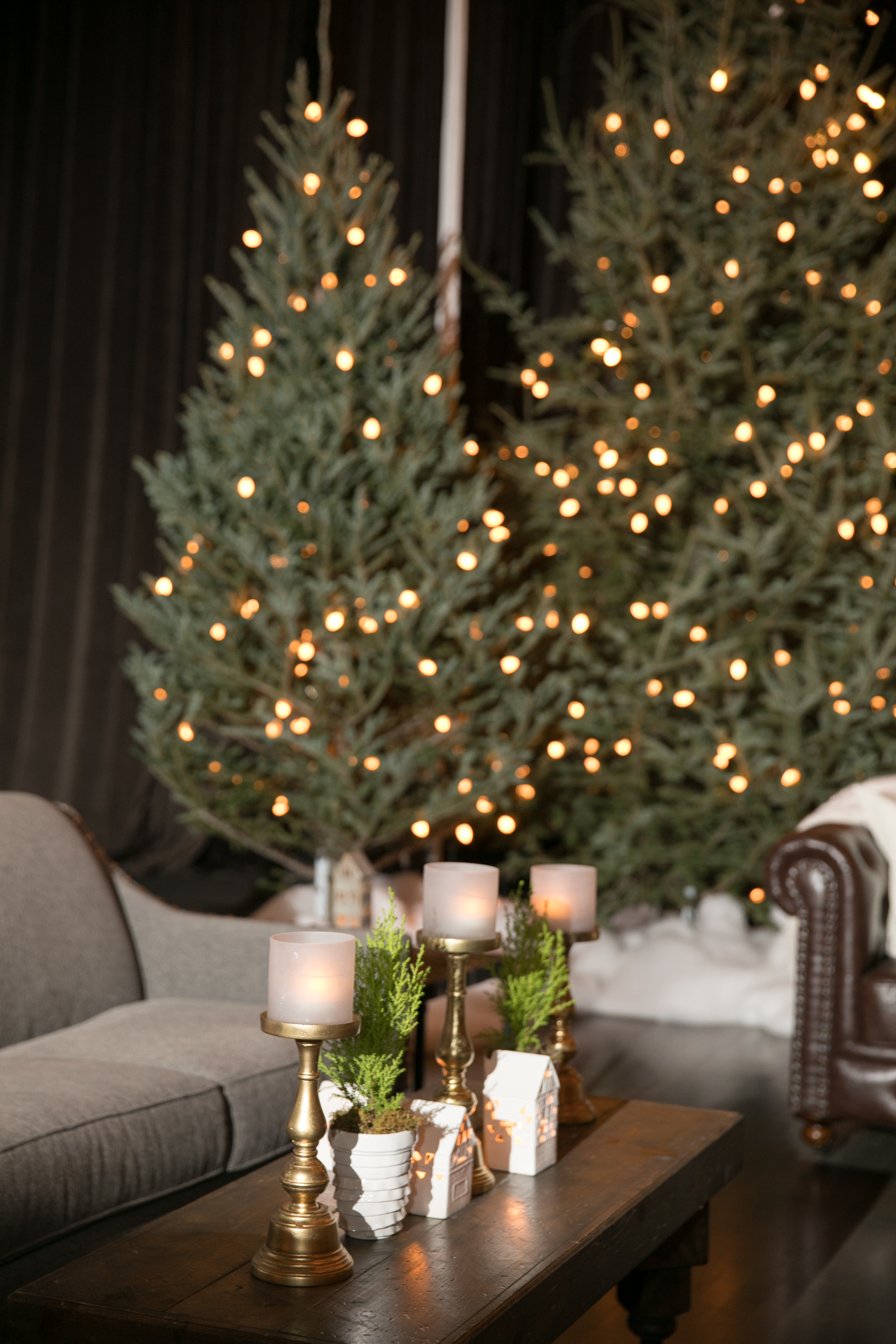 Crate and Barrel Après Ski Holiday party - Shannon Gail Events