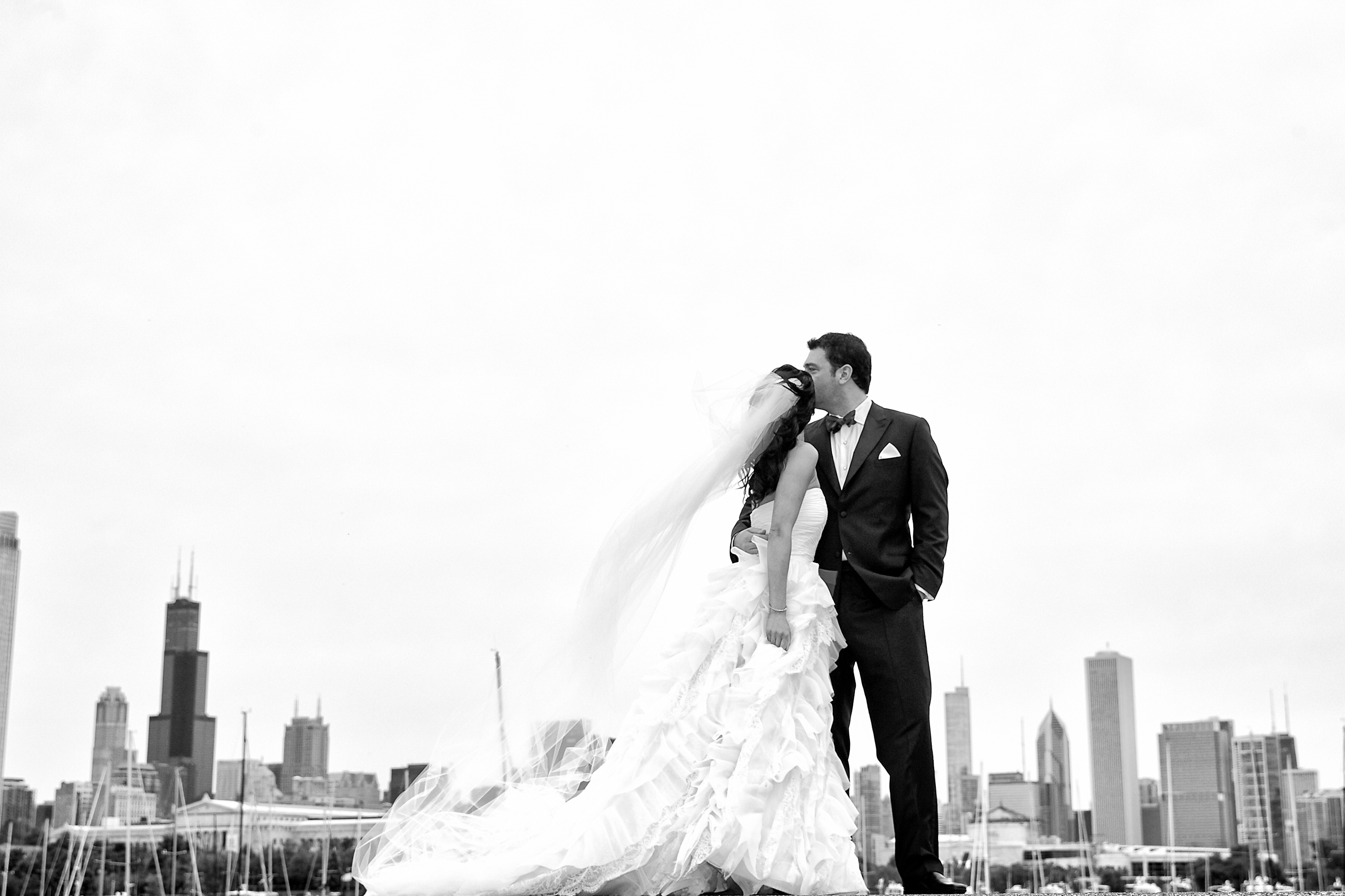 Northerly Island Tent Wedding - KingenSmith