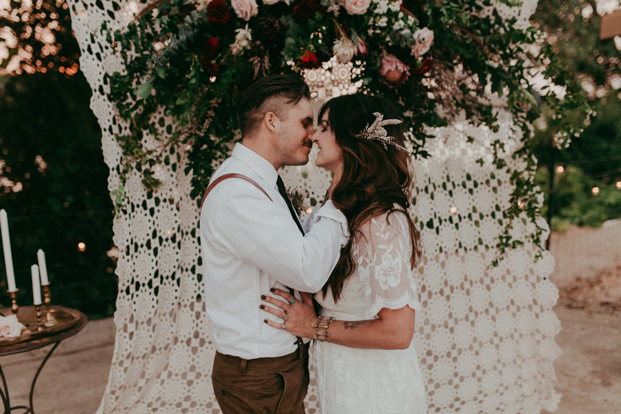 Boho Vow Renewal - Tin & Twine