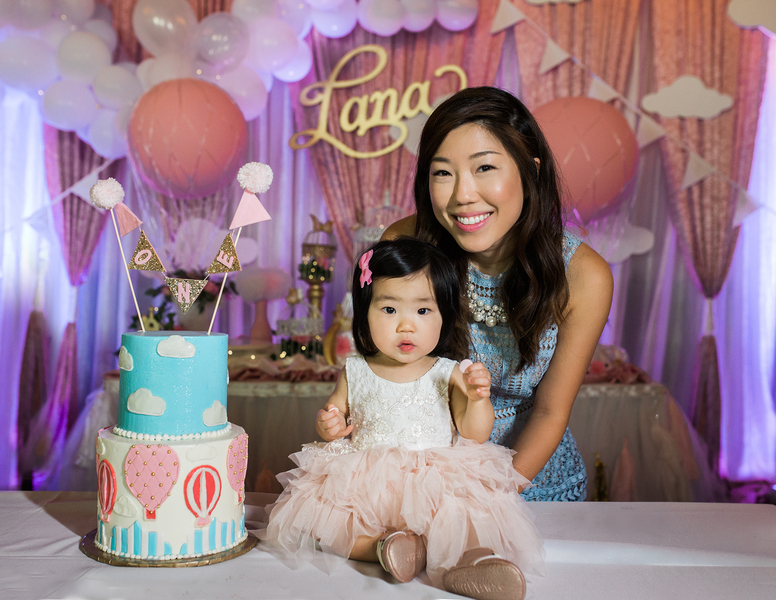 Lana's First Birthday - Jamie Lucido Photography