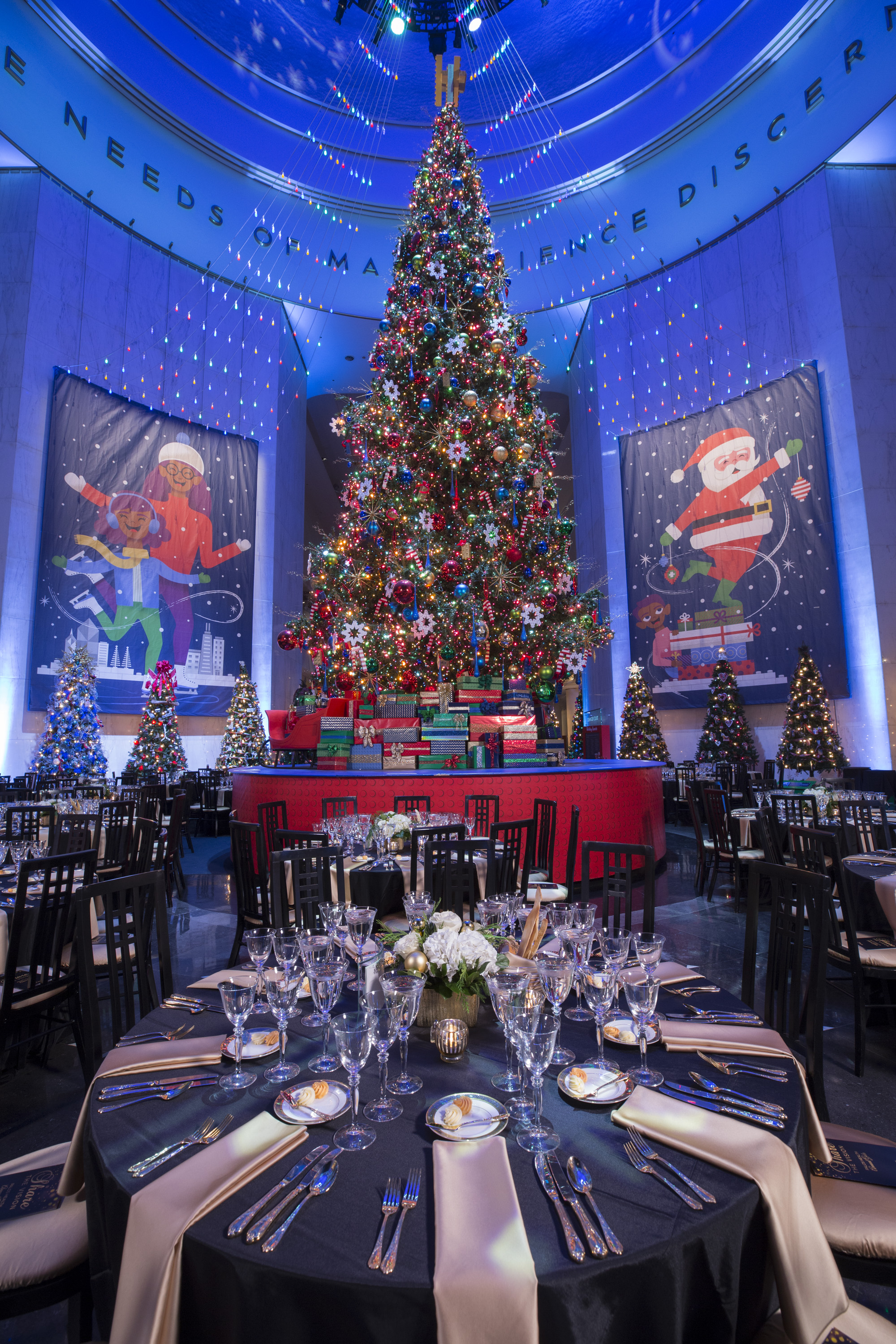 Corporate Holiday Gala - Museum of Science and Industry, Chicago